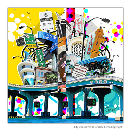 City Icons Miami