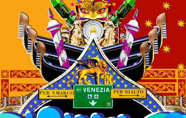City icons venezia